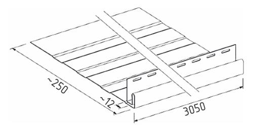 Фасадная ппанка SV-19